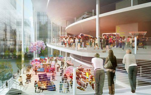 проект здания в Гонконге