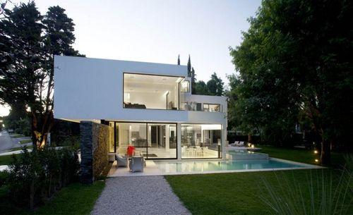 Дом Carrara от Andres Remy Arquitectos