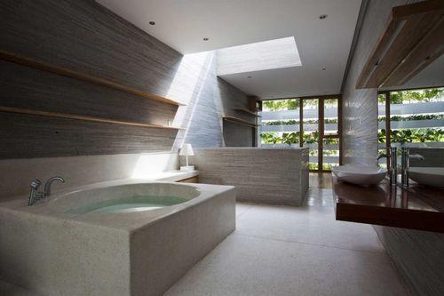 Ванная комната без перегородок