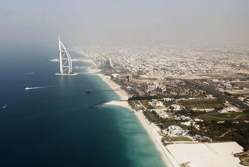 Дубай с высоты