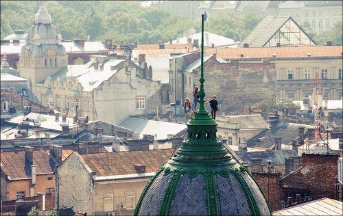 Фотографии Львова с высоты
