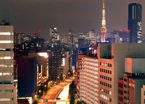Фотографии ночного Токио
