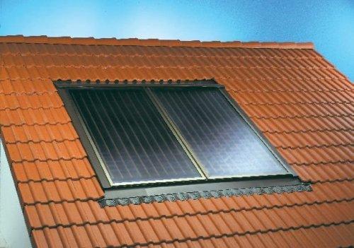 Солнечный коллектор в крыше