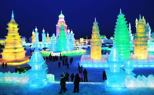 Фестиваль снега и льда