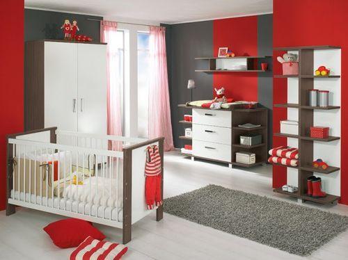 Интерьер детской комнаты для младенцев