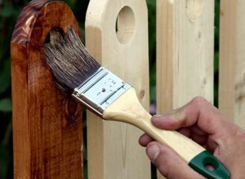 Как правильно наносить пропитку на древесину?