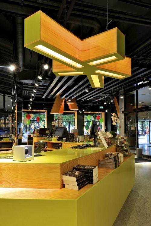 Дизайн книжного магазина