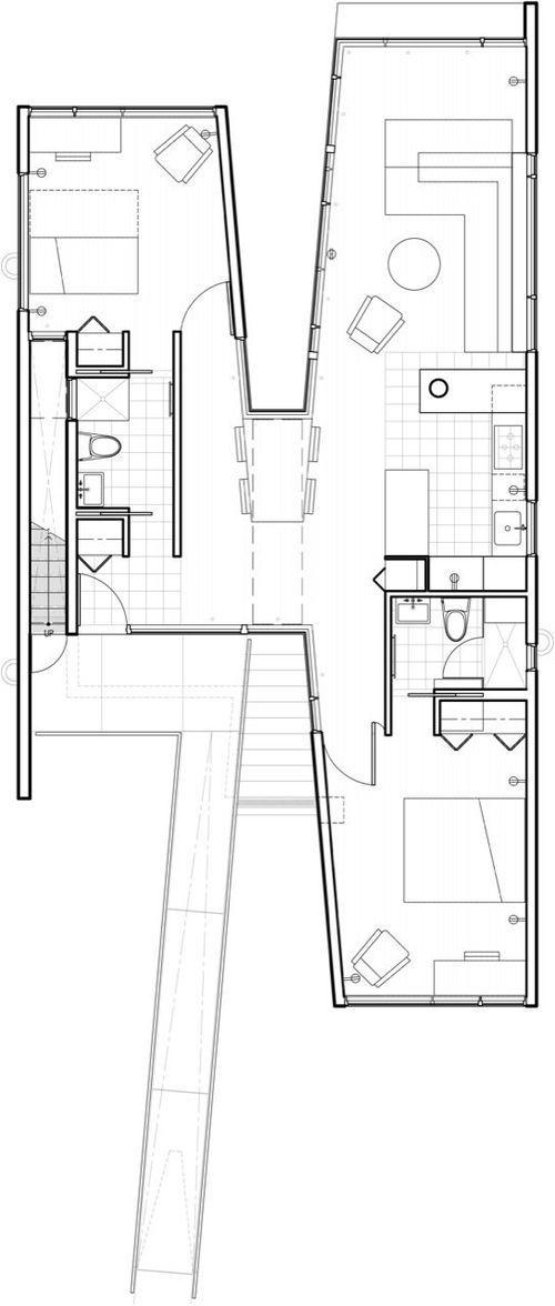 План первого этажа коттеджа Koby