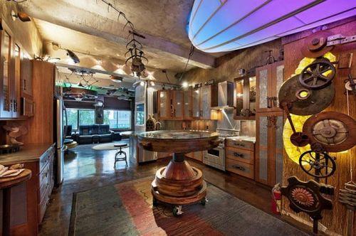 Креативная идея дизайна интерьера квартиры