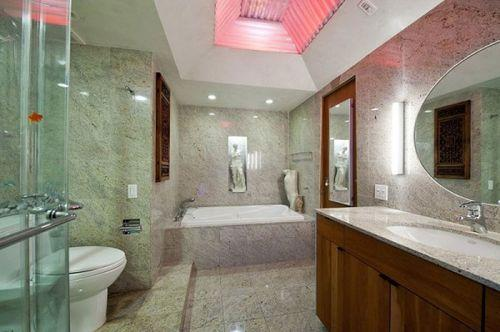 Ванна в сказочной квартире