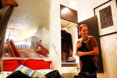 Квартиры IKEA в парижском метро
