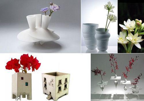 Необычные дизайнерские вазы