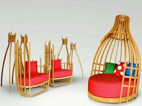 Оригинальная садовая мебель от Deesawat