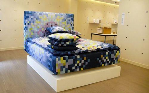 Пиксельная кровать