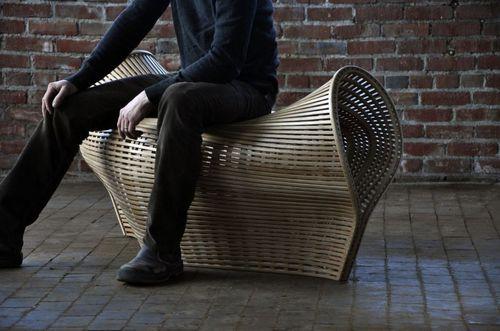 Pinch - кресло из согнутой древесины
