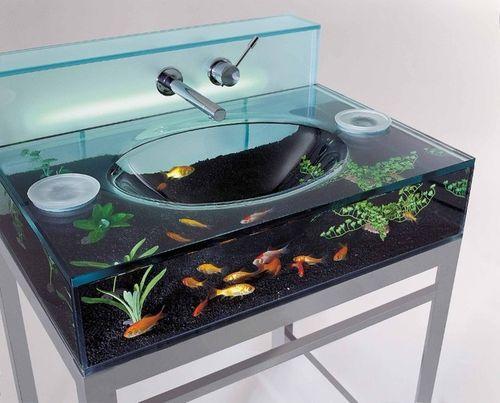 Раковина-аквариум за $4,500