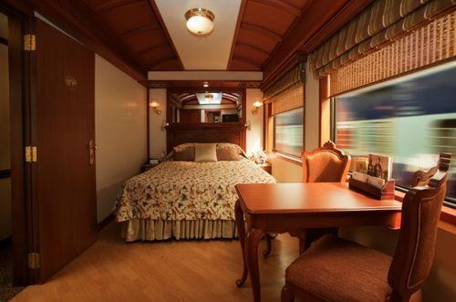 Спальня в поезде Maharajas' Express