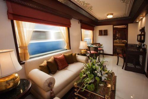 Роскошный поезд в Индии Maharajas' Express