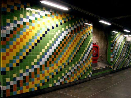 Мозаика в метро