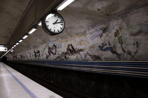 Винтажное метро