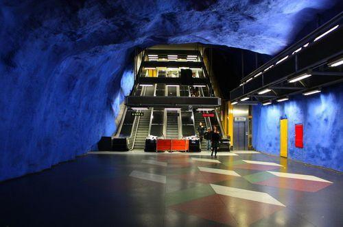 Стокгольмское метро - самое необычное метро в мире
