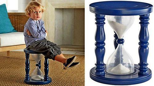Стул - песочные часы Time-Out Timer Stool
