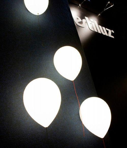 Лампа в виде шарика