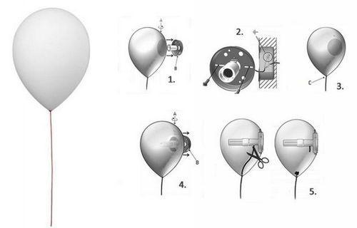 Светильник шарик