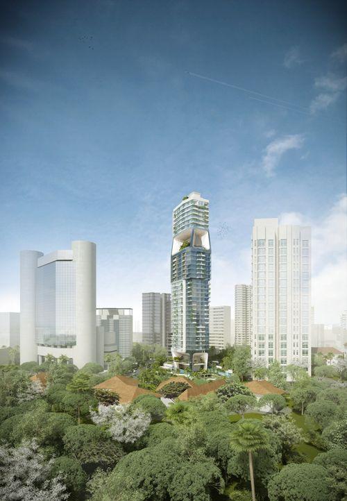 Вертикальный город - башня
