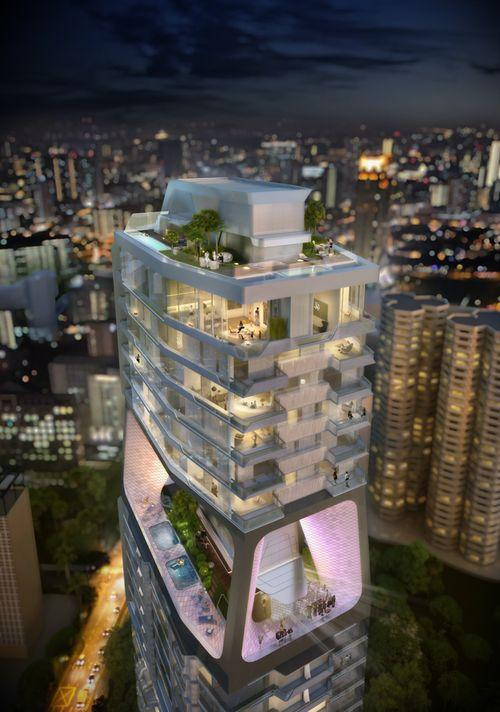 Вертикальный город