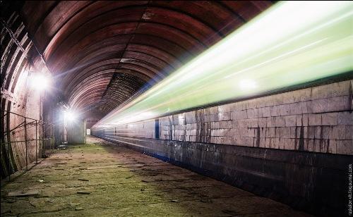 Заброшенная станция метро «Львовская брама»
