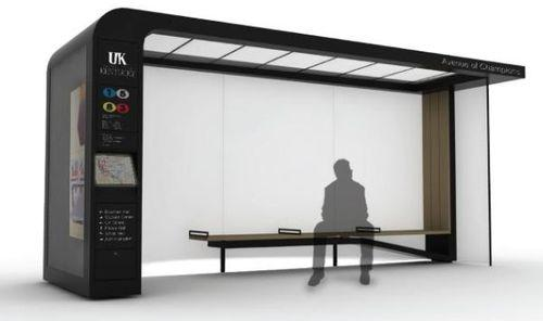 Bus Shelter System - фурнитура для города