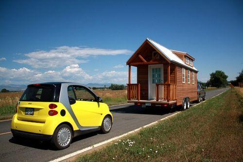 Дом-дача на колесах