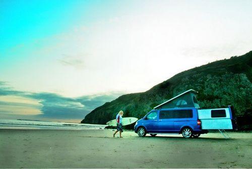 VW Transporter - дом на колесах