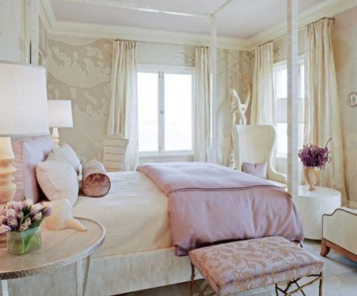Прекрасная романтическая спальня