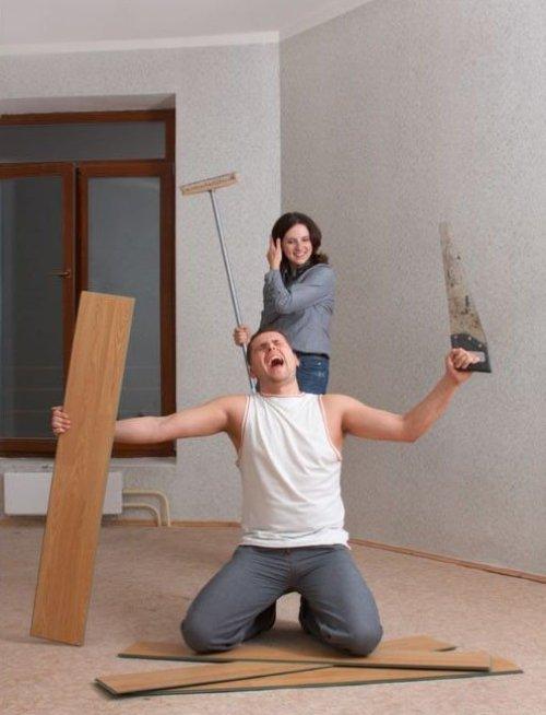 Когда ремонт в квартире затягивается
