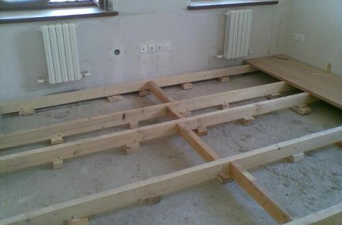 Как стелить деревянные полы?