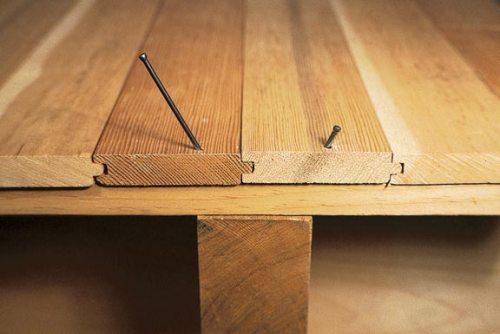 Как устранить скрип пола?