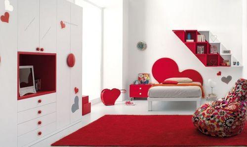 Романтическая спальня