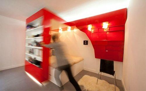 Красная спальня - трансформер