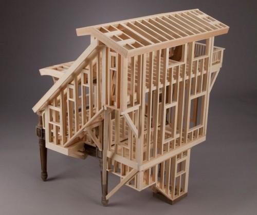 Архитектурное кресло Теда Лотта (Ted Lott)