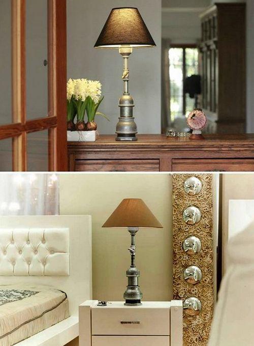 Fat Mona и Little Mona: лампы из водопроводных труб