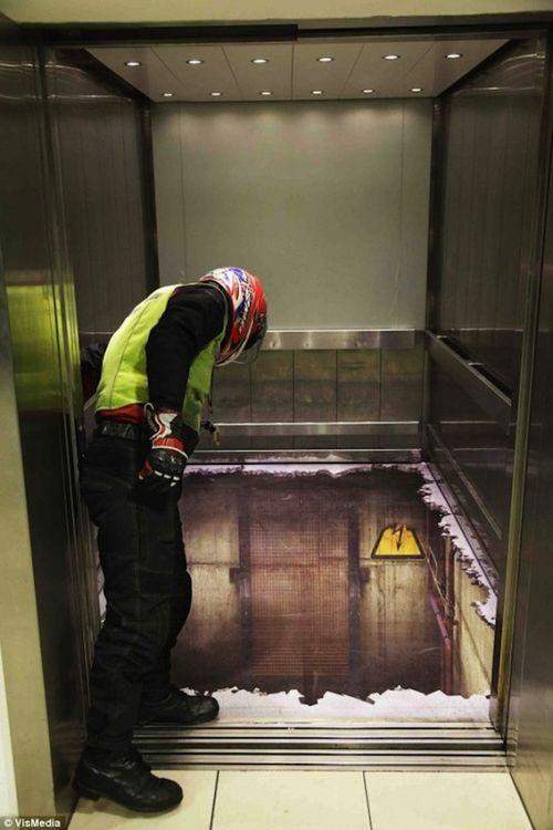 Лифт без дна в Лондоне