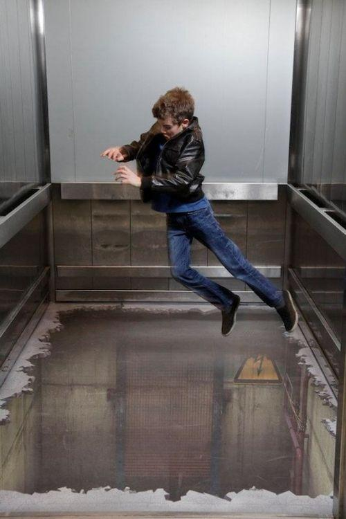 Лифт без пола