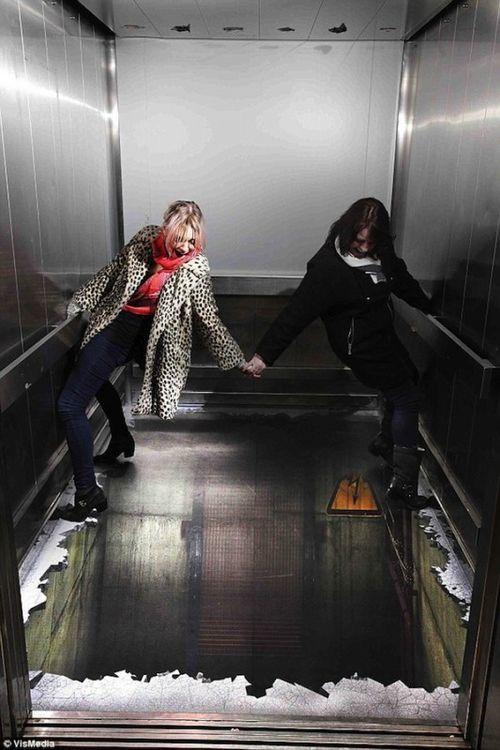 Опасный лифт