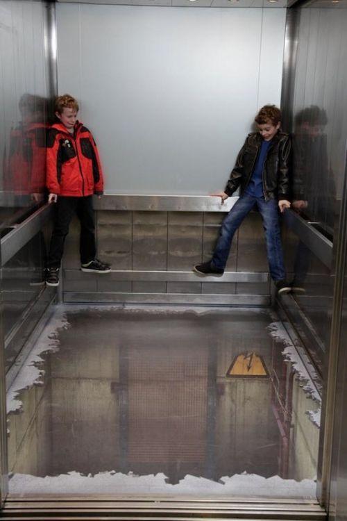 Нет дна в лифте