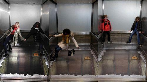 Лифт, у которого нет дна в Лондоне