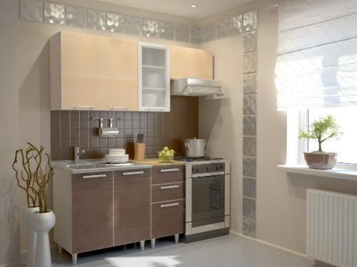 Эконом дизайн маленькой кухни фото