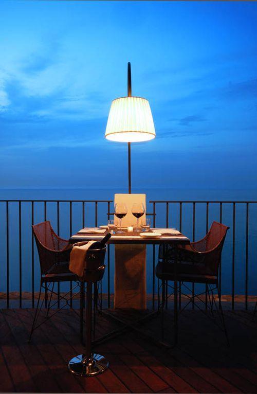 Романтический ужин в необычном ресторане