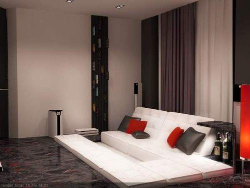 Проект дизайна квартиры от Flatt studio